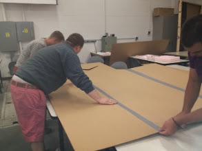 Photo: Cardboard Boat Making!!