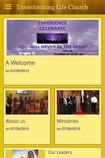 Transforming Life Church Min.