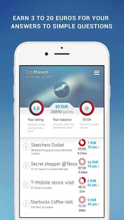 TopMission- screenshot