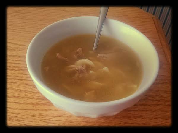 Mom's Cure For Common Cold Chicken Noodle Soup