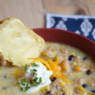 Easy White Chicken Chili Soup Supreme Recipe