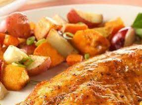 Tilapia With Roasted Veggies Recipe