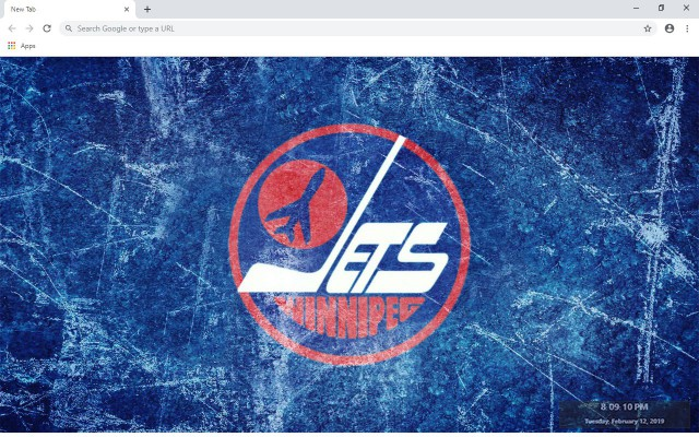 NHL Winnipeg Jets New Tab Theme