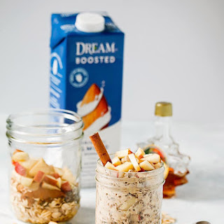 Apple Cinnamon Overnight Oats with Almond Dream Boosted