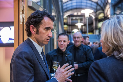 Club les echos débats avec Alexandre BOMPARD, Président-directeur général de la FNAC