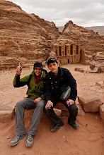 Photo: It was great fun to spend Christmas in Petra with Scott and Young Sam