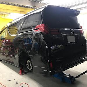 ヴェルファイア AGH30W ZGのタイヤのカスタム事例画像 まー太郎さんの2018年08月18日21:15の投稿