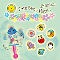 Tote Baby Rattle Premium icon