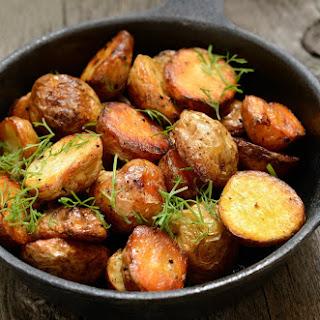 Slow-Roasted Potatoes.