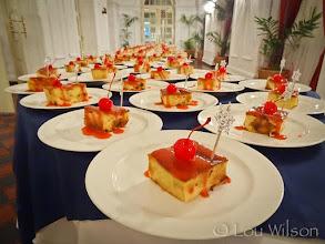 Photo: Galle Face Hotel Dessert Preparation for Jennet and Glenn's Wedding Reception