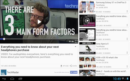 Just Video Feeds for Facebook to explore Videos 4.180926 screenshots 9