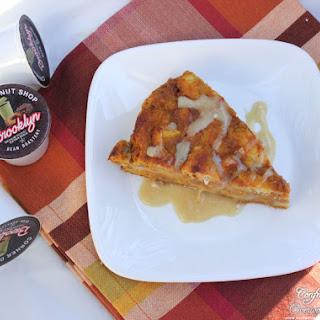 Spiced Pumpkin Bread Pudding with Maple Glaze Recipe