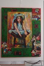 Photo: Ausstellung NANA ALIONI (28.5. bis 5.6. ) in der KUNST - WERK-Galerie des Online-Merker. Foto Herta Haider