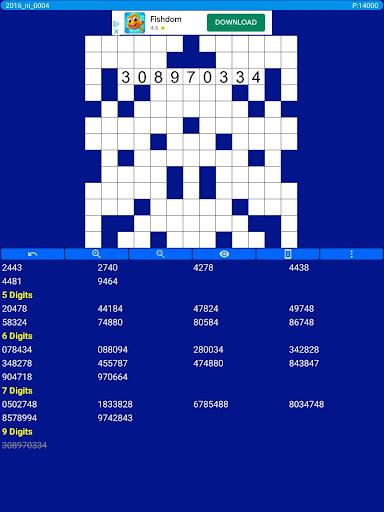 Number Fill in puzzles - Numerix, numeric puzzles 6.6 Screenshots 12