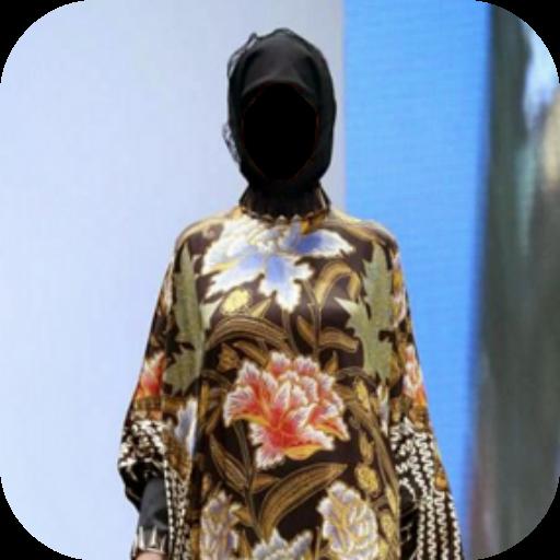 Hijab Batik Dress Photo Frames for PC