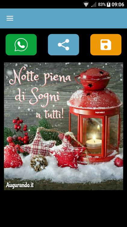 Augurando Immagini Buongiorno Buonanotte Natale Android