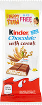 Kinder Chocolate Bar - Cereals, 23.5g