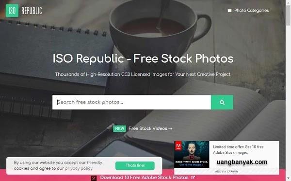 penyedia gambar gratis iso republic untuk keperluan blogging