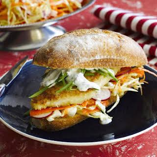Fish Po' Boy Sandwich.