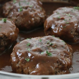 If You're Looking For A Good Recipe For Salisbury Steak Smothered In A Rich Sauce Then You'll Love This!