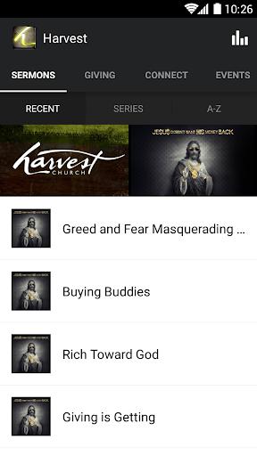 Harvest Church App