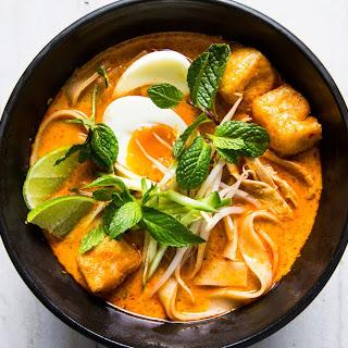 Chicken Curry Laksa.
