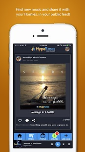 HypeTunes- screenshot thumbnail