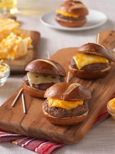 Cheesehead Sliders Recipe