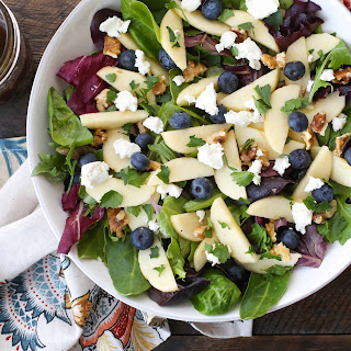 Blueberry Apple Walnut Salad.
