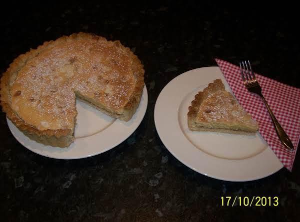 English Bakewell Tart.. Recipe