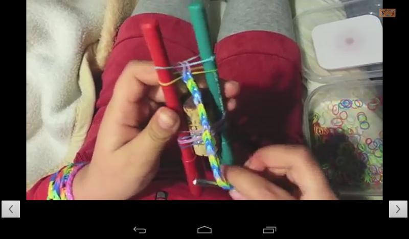 Скриншот Pulseras con Gomas