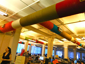 Photo: Yarn wrapped air ducts