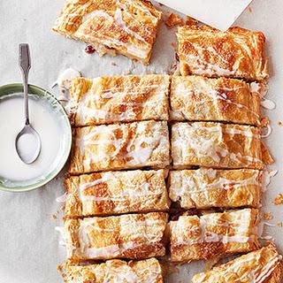 Easy Apple-Cranberry Slab Pie.