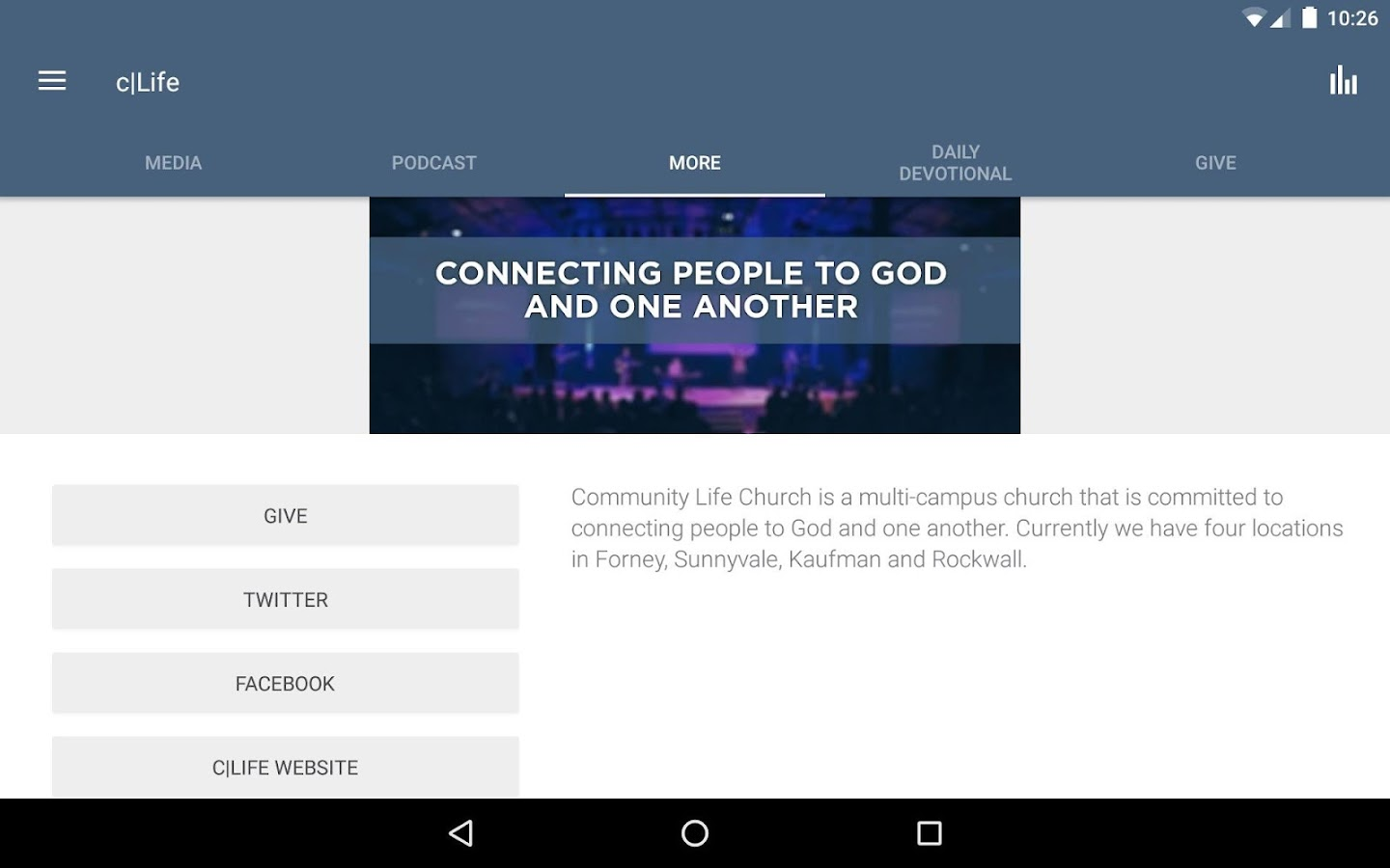 Community Life Church- screenshot