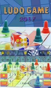 Ludo Game 2017 Keyboard Theme - náhled