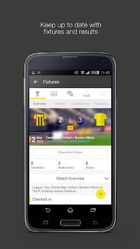 Fan App for Cambridge United