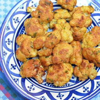 Moroccan Fried Cauliflower.