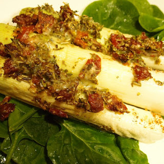 Leeks with Gorgonzola Cheese Recipe