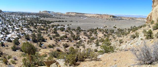 Sid's Mountain panorama