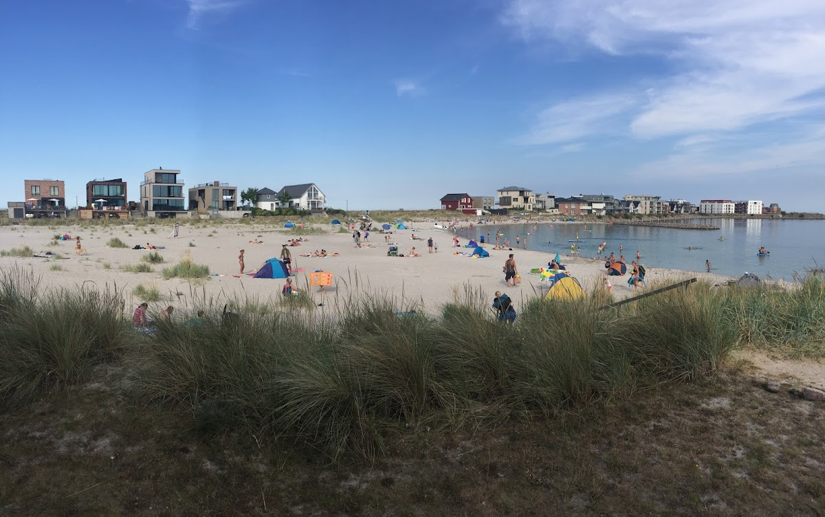 Der kleine Strand direkt im OstseeResort