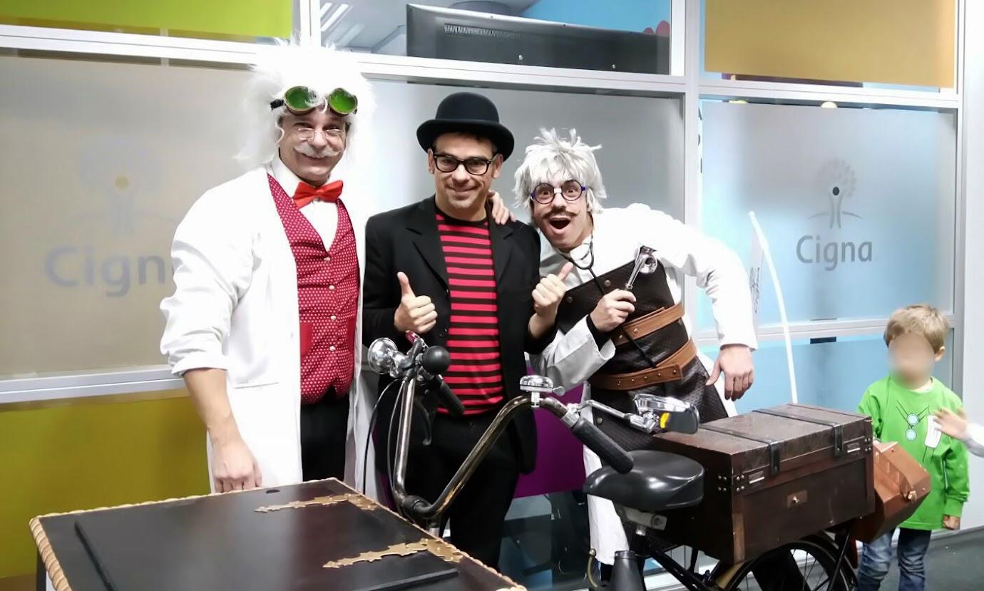 Robin, Alfonso V, Fran, velocípedo mágico