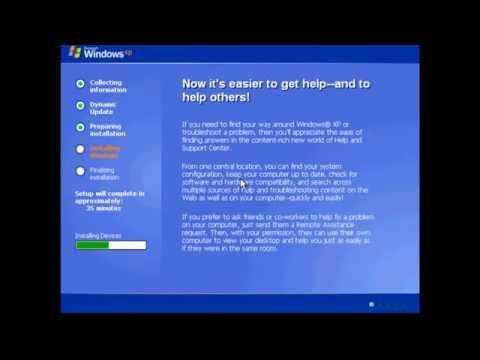 Tăng tốc cài đặt windows xp, windows 7