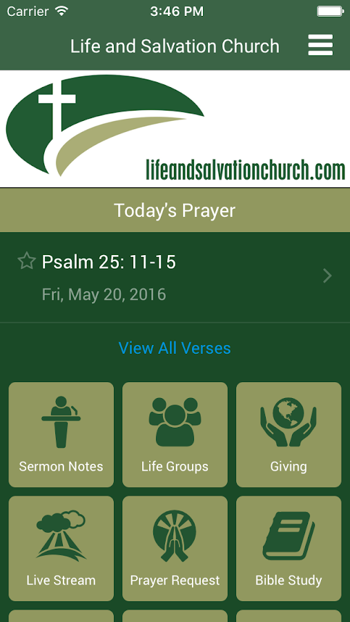 Life and Salvation Church- screenshot