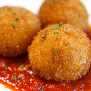 Risotto Croquettes with Sundried Tomato Pesto