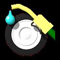 Mileage calculator icon