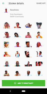 Tamil Stickers for WhatsApp (WAStickerApp) Download For Android 7