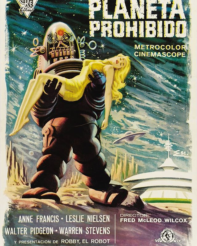 El planeta prohibido (1956, Fred M. Wilcox)