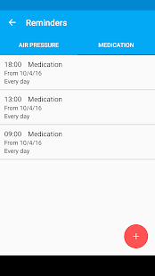 Blood Pressure Diary Screenshot