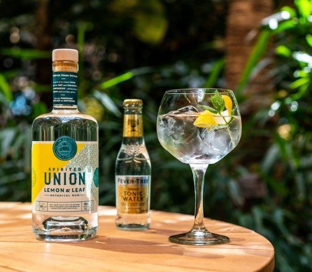 Spirited Union Botanical Rum - Lemon & Leaf