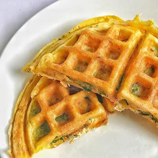 Omelette Waffle Recipe